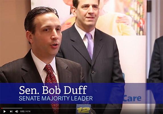 CT Senate Majority Leader Bob Duff